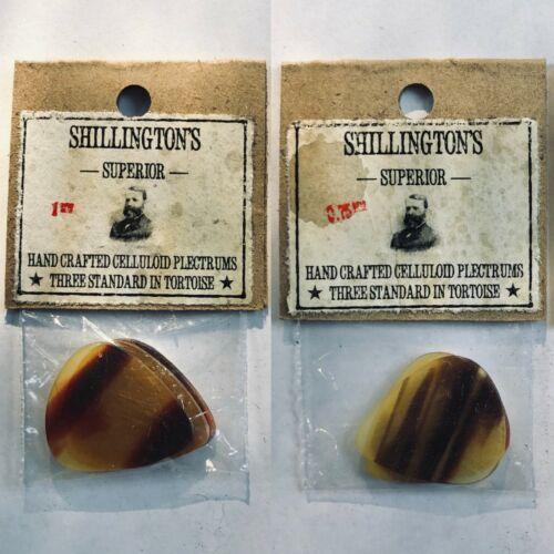 3x NOS Vintage Celluloid Picks 1920
