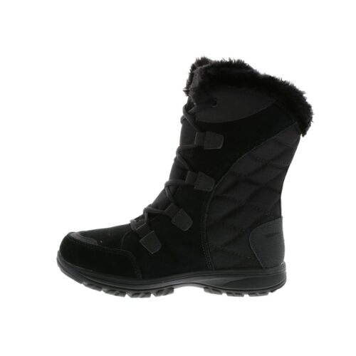 Columbia Women's Ice Maiden Ii Snow Boot, Black, Columbia Grey, 10.5 B US 1554171