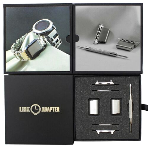 Link- watch adapter ***Compatible LEATHERMAN TREAD / TREAD LT*** Stainless steel