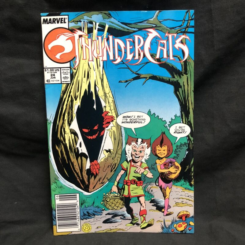 Thundercats 24 Marvel Comic Book NM Star 1988