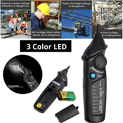 1248-1000v Non Contact Voltage Tester Electrical Pen Detector Auto Mode Check