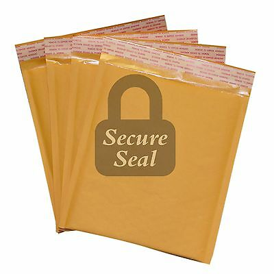250 Dvd 7.5x10 Kraft Bubble Mailers Self Seal Padded Envelopes 7.5 X 10 Dvd