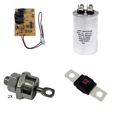 EZGO Powerwise Charger Complete Rebuild Kit TXT 36 Volt, 1994+ Golf Cart Charger