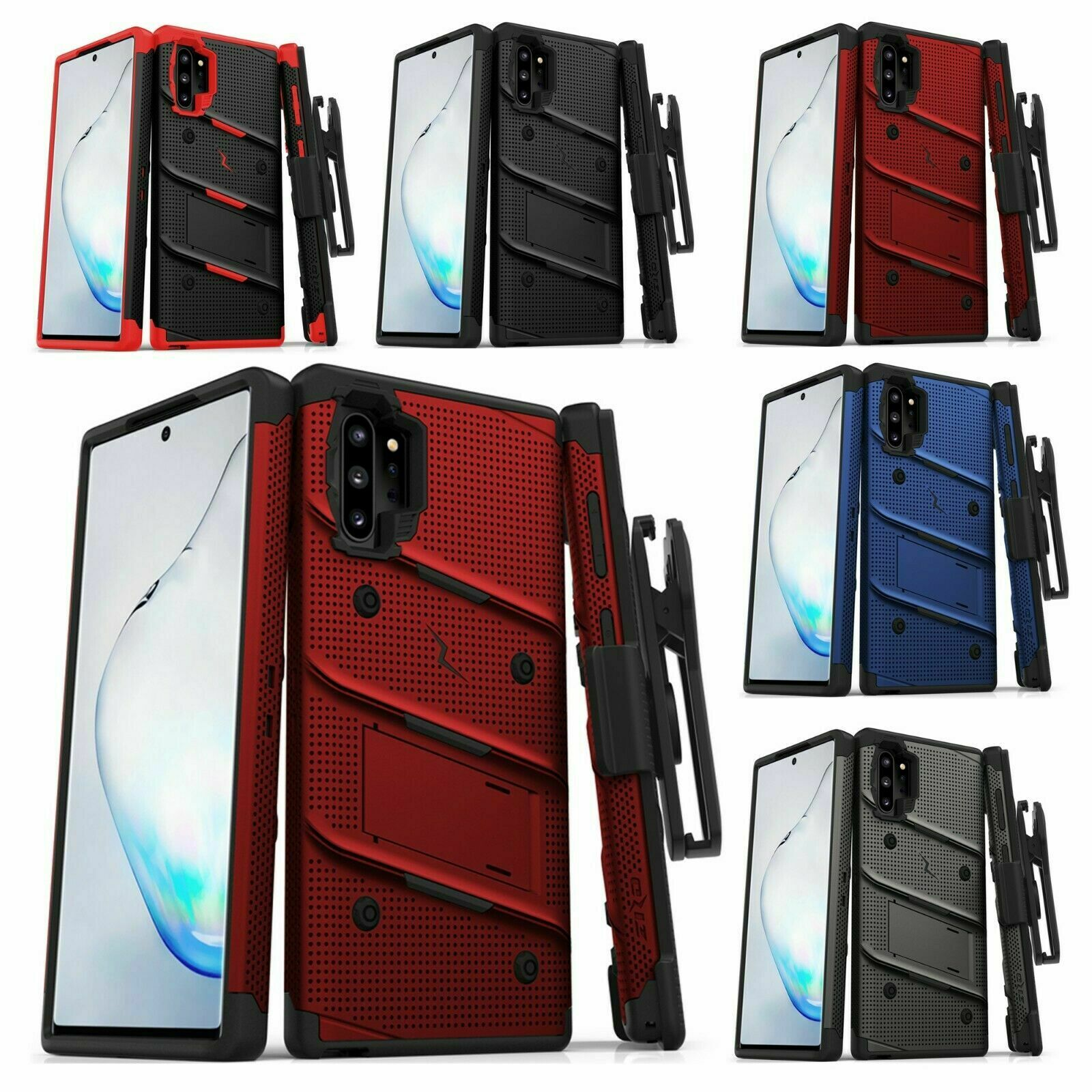 Samsung Galaxy NOTE 10+ PLUS ZIZO BOLT Case with rotatable h