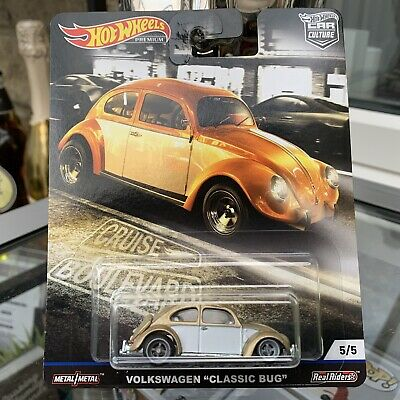 Hot Wheels Real Riders Car Culture Cruise Boulevard VW Volkswagen Classic Bug