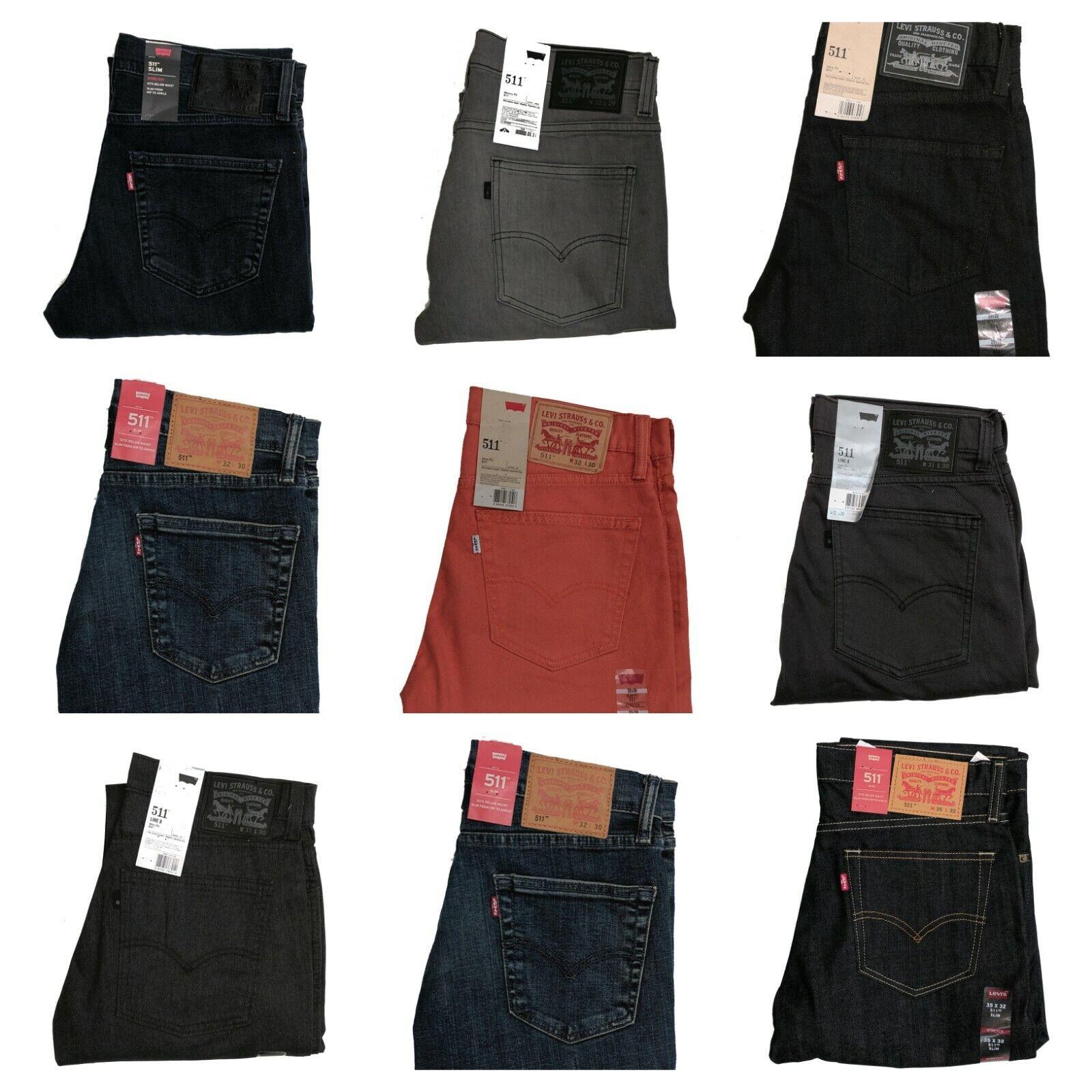 Levis 511 Slim Fit Men's Stretch Denim Levi's Jeans 28 29 30
