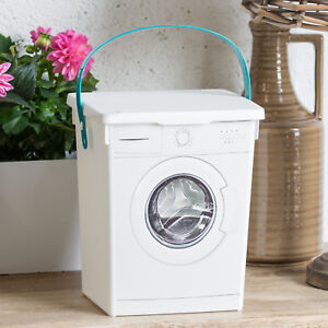 5L Laundry Storage Box Washing Powder Tablets Capsules Container Holder Utility