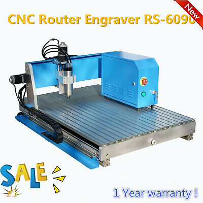 3 Axis Cnc Router 6090 Mini Engraving Machine Milling Engraver Wood Aluminum
