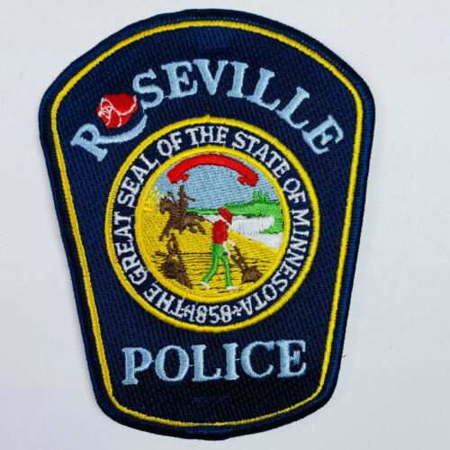 Roseville Police Minnesota MN Patch (A1)