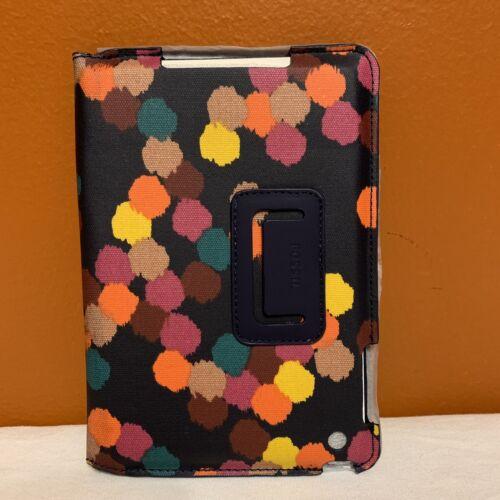 New FOSSIL Key-per IPad Mini Tablet Case Sleeve Polka Dot Co