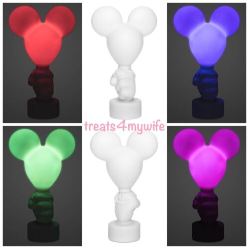 NEW Disney Parks Mickey Mouse Balloon Color Changing Night Light Nightlight