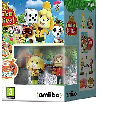 Animal Crossing amiibo Festival Nintendo Wii U Game 3+ Years