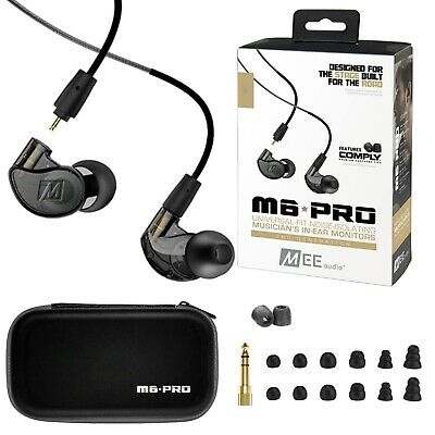 MEE audio M6 PRO 2nd Generation Universal-Fit Noise-Isolatin