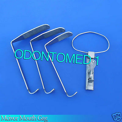 Mcivor Mouth Gag Surgical Dental Anesthesia Instruments
