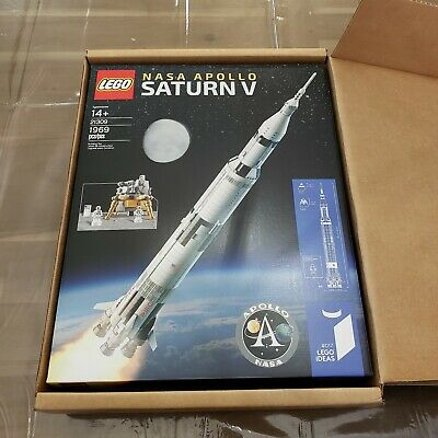 Lego 21309 NASA Apollo Saturn V Ideas #017 1969pcs