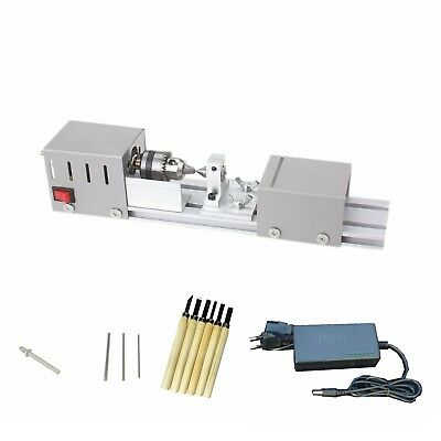 Diy Standard Wood Lathe Mini Lathe Machine Polisher Table Saw Cutting With Power