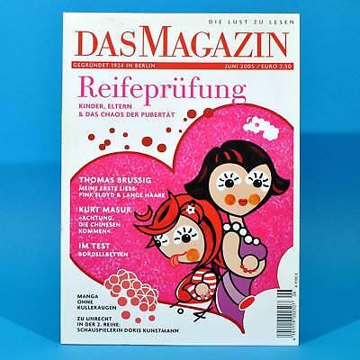 Das Magazin 6/2005   Akt Erotik   Kurt Masur Doris Kunstmann Lustmatratzen