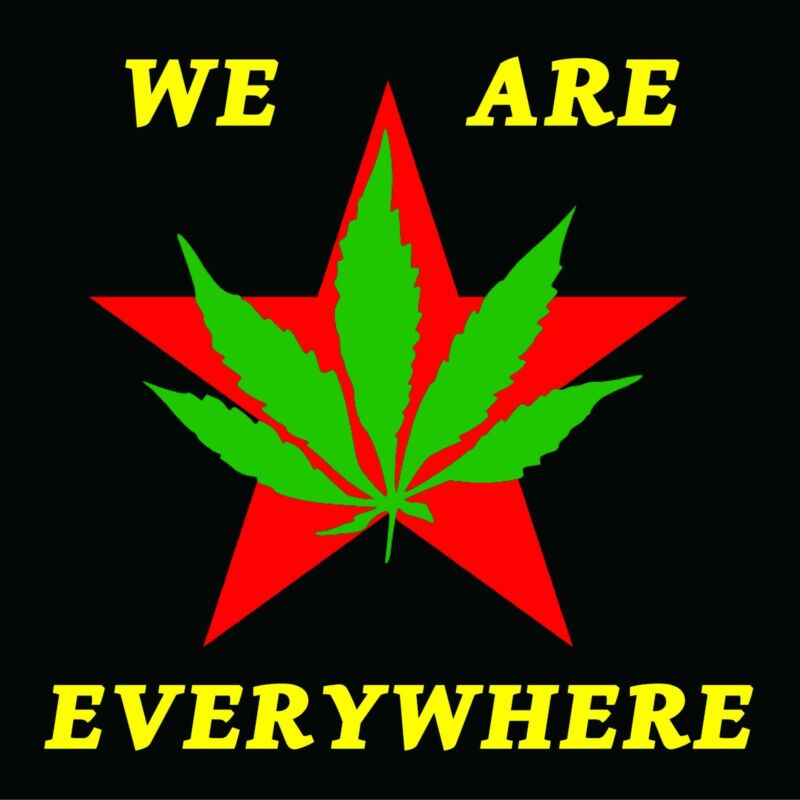 Youth International Party , YIPPIE , Stickers , Anarchy , Marijuana , Pot , Weed