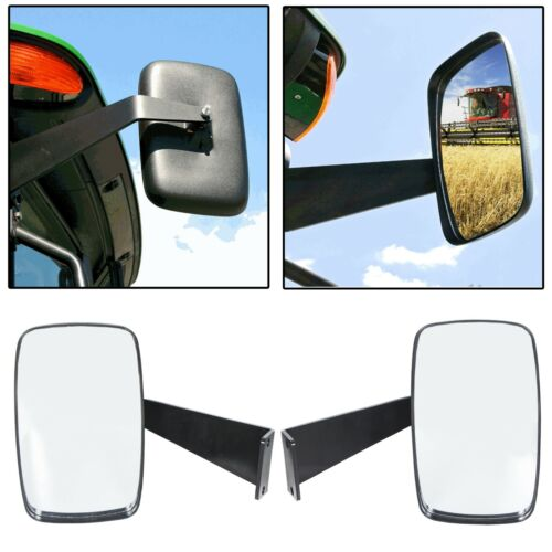 NEW Value Mirror Kit For John Deere 5000 6000 Series Compact