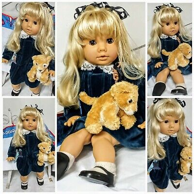 Vintage Angel Buppe Doll 18