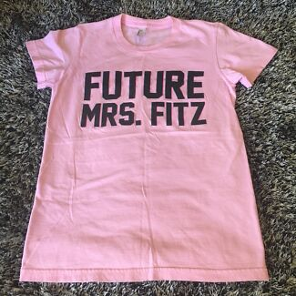 "Small ""Future Mrs. Fitz"" Pink T-Shirt (PLL)"