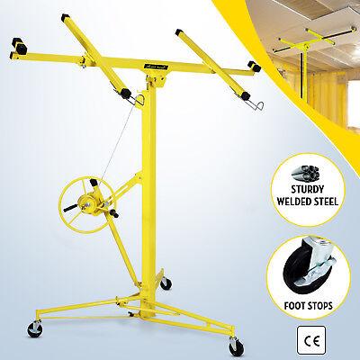 16ft Drywall Lift Sheetrock Lifter Plasterboard Panel Hoist Carrier Rolling Tool
