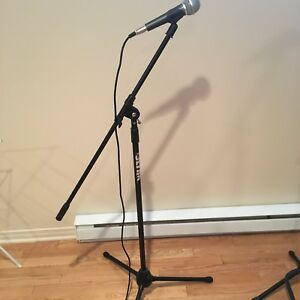Microphone and stand for sale