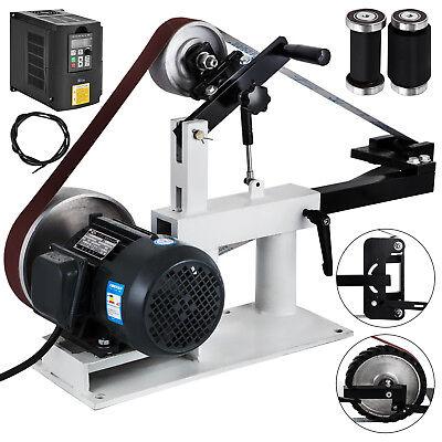 Heavy Duty 2x82 Sander Belt Grinder Table Top Sanding Machine 2hp Motor