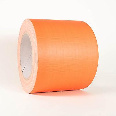 d Panzertape Klebeband Orange Matt 100mm x 25m (Orange Klebeband)