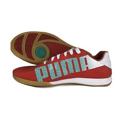 Puma Mens Size 9 Sports Lifestyle Indoor Soccer Shoes Orange