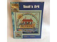 Noah/'s Ark Realistic 3-D Bazooples Buttons 6 Ark Cloud Fish Rainbow Dove