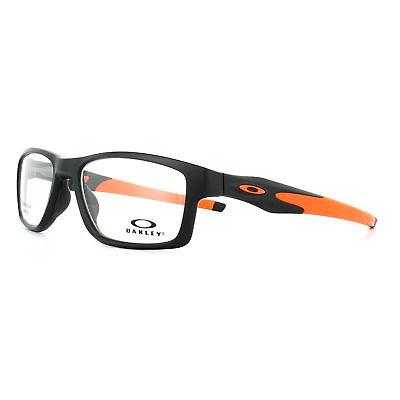 Oakley Glasses Frames Crosslink Trubridge OX8090-01 Satin Black 55mm Mens