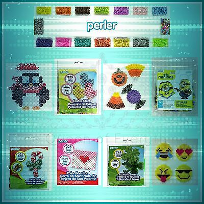 Perler Fused Bead Kit and Ironing Paper](Perler Bead Paper)