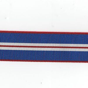 Medal-Ribbon-Queens-Golden-Jubilee-2002-Full-Size-Sold-in-6-Lengths