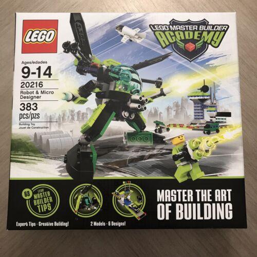 LEGO Master Builder Academy Robot & Micro Designer 20216