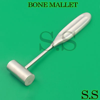 Bone Mallet 8 Surgical Veterinary 260 Grams Orthopedic Instruments