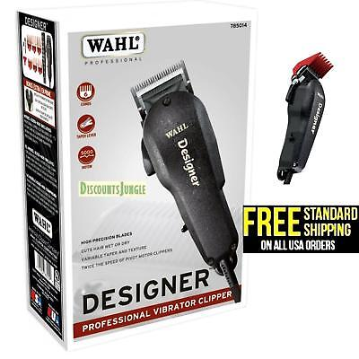 Wahl Professional Designer Clipper #8355-400, Cuts Hair Wet or Dry, Taper Lever for sale  Los Angeles