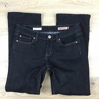 Jag Jeans Mid Rise Reg Fit Boot Cut Stretch Women's Jeans Size 10 (VV16)