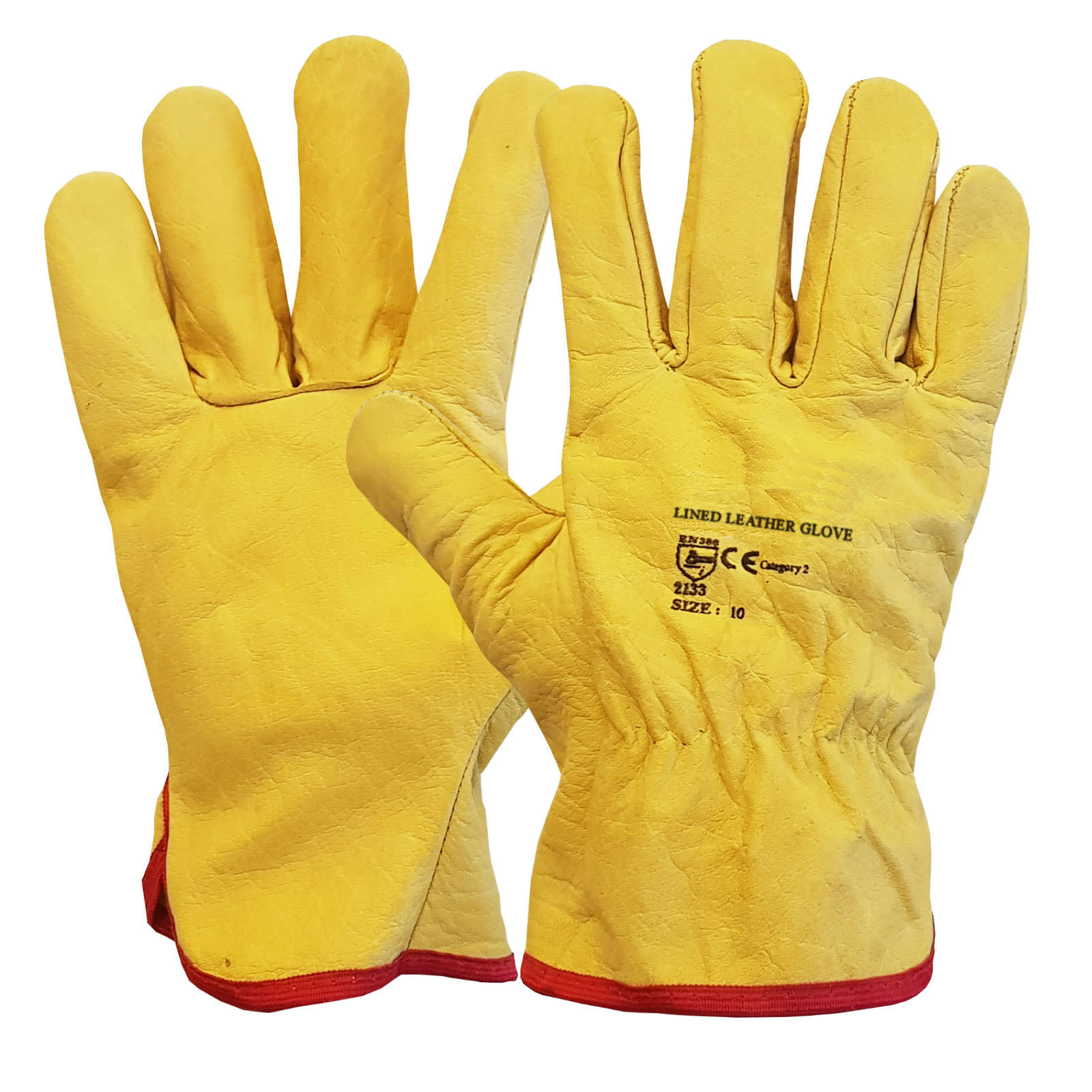 Men/'s Premium Work Glove Hestra Job Size 10 Extra Large