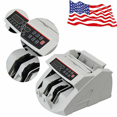 Money Bill Currency Counter Counting Machine Counterfeit Detector Uv Mg Sale Usa