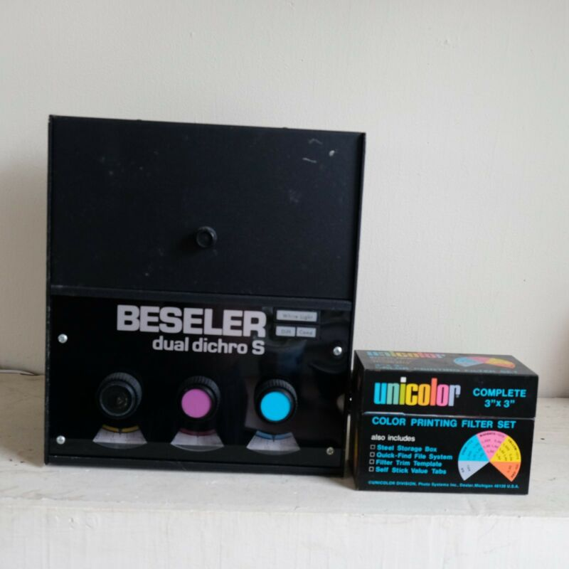 color lamp head Besler dual dicro S with color filter set