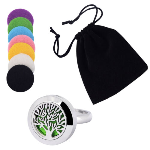 Stainless Steel Essential Oil Diffuser Locket Gift