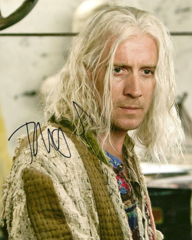 Rhys Ifans signed autograph Hannibal Rising Little Nicky Harry Potter LOOK!!