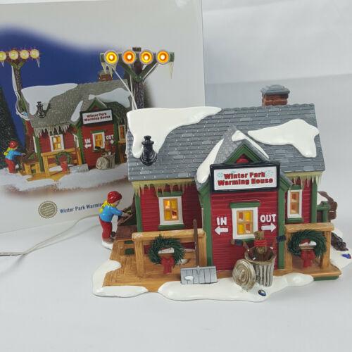 Department 56 Winter Park Warming House #55351