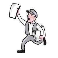 Newspaper carrier wanted!