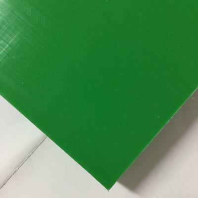 Hdpe High Density Polyethylene Plastic Sheet 2 X 3.5 X 18 Green Color