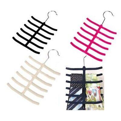 24 Krawattenhalter Bügel Schalhalter Schmuckhalter Krawattenbügel Gürtelhalter