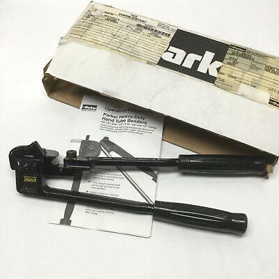 Parker 6-2829s Medium Duty Manual Hand Tube Bender Tool 38 Od 1516 R