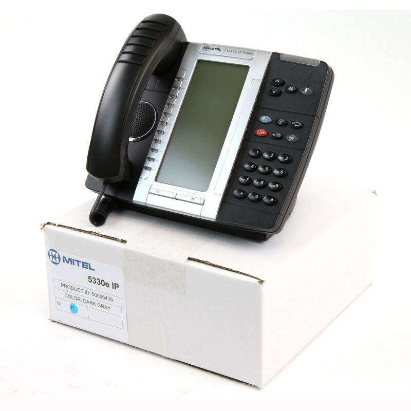Mitel 5330e IP Gigabit Phone (5006476) Refurbished - Bulk