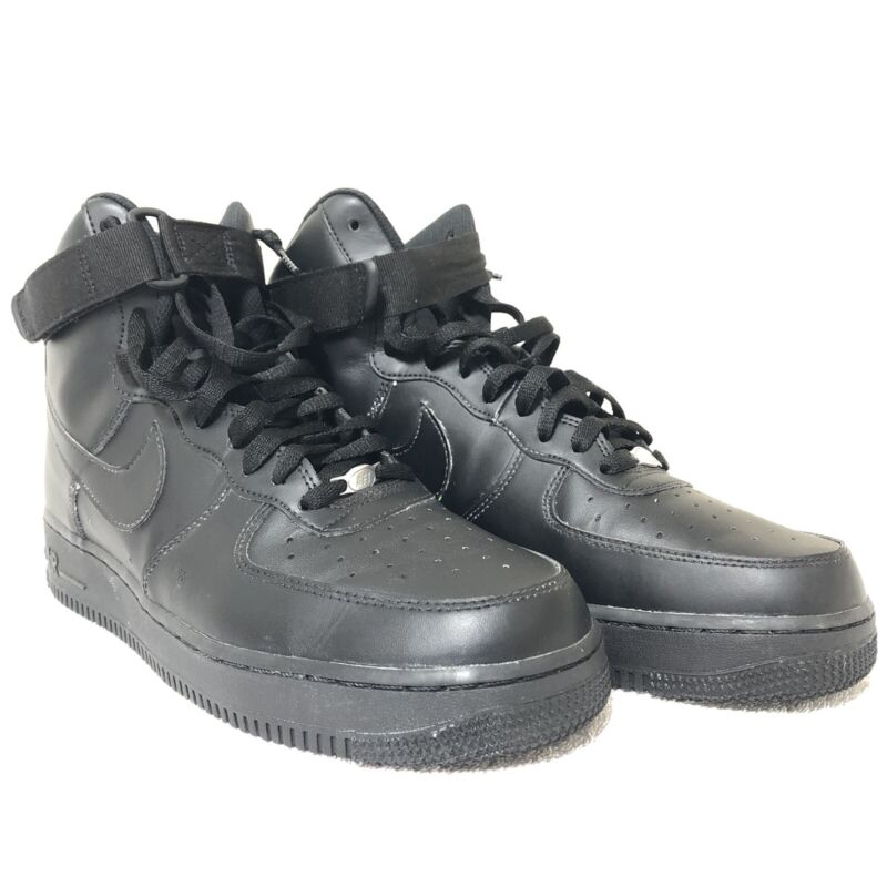Nike Air Force 1 07 High Triple Black / All Black - Mens Size 11 315121-032